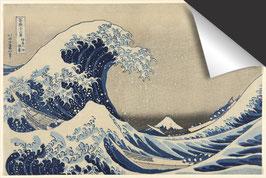 Katsushika Hokusai - De grote golf van Kanagawa Inductie Beschermer