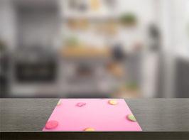Roze macarons Inductie Beschermer