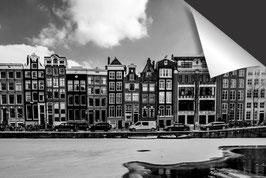 Stad Amsterdam - zwart wit