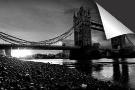 Stad Londen - zwart wit