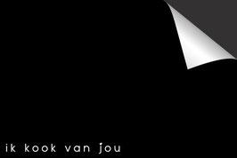 Quote - Ik Kook Van Jou - Inductie Beschermer