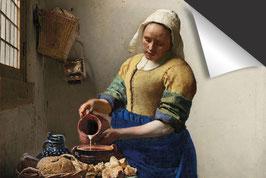 Johannes Vermeer-Het Melkmeisje Inductie Beschermer