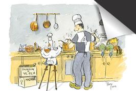 Perry Taylor - Duck Kitchen - Inductie Beschermer
