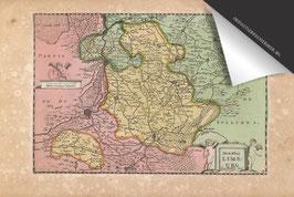 Limburg-Oude Kaart - Inductie Beschermer