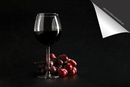 Rode Wijn en Druiven Inductie Beschermer