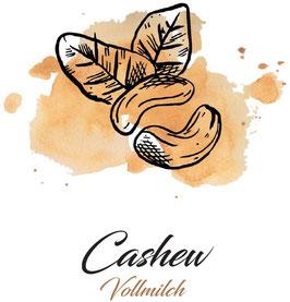 Vollmilchschokolade 40% Kakao mit Cashew  100g