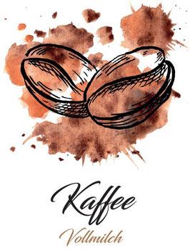 Vollmilchschokolade 40% Kakao mit Kaffee  100g