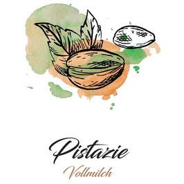 Vollmilchschokolade 40% Kakao mit Pistazien 100g