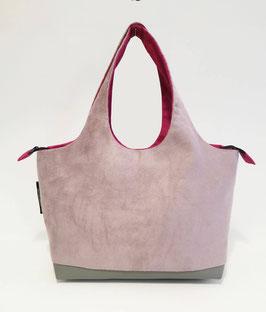 Shopper PM Alcantara rose
