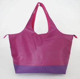 Shopper TGM Skaï violet