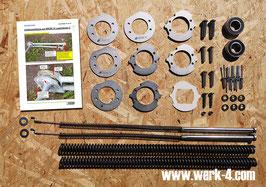 Komplettes Instandsetzungspaket für die  VW T2 Westfalia Aufstelldachmechanik