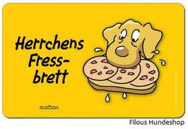 Herrchens Fressbrett