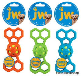 JW HOL-EE Bone with squeaker medium