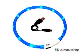 Karlie VISIO LIGHT LED HALSBAND, Farbe : blau