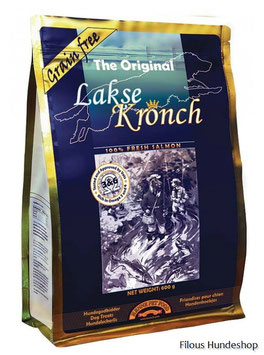 "Henne Pet Food ""Lakse Kronch-das Original"" 600g"