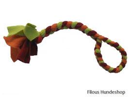 Fleece-Spielzeug geflochten mit Handschlaufe