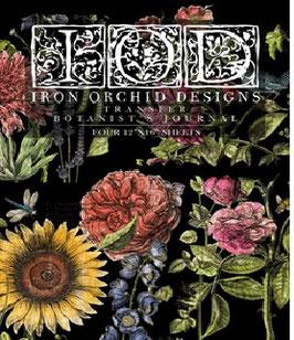 "IOD Decor Transfers ""Botanist Journal"""