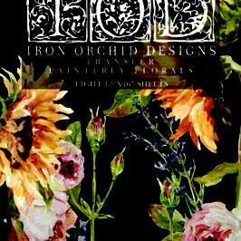"IOD Decor Transfers  ""Painterly-Florals"""