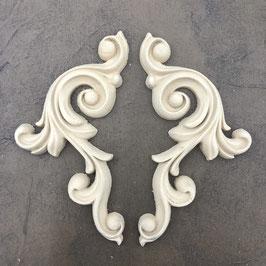Decorative Scrolls WUB1386-7 18cm X 14cm / Set 2 Stk