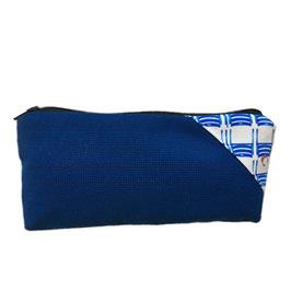 Trousse/Etui Homme Bleu Azur