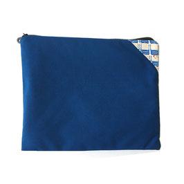 Pochette XL Homme Bleu Azur