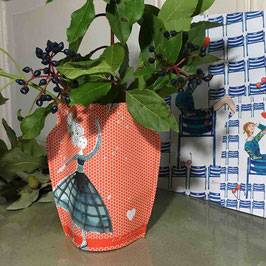 Vase Papier ROUGE