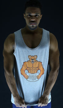 Garbear Fitness | Men's Tanks | Series 1 - Gray