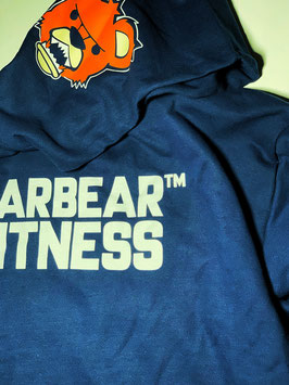 Garbear Fitness Men's Hoodie | Series 1 | Navy