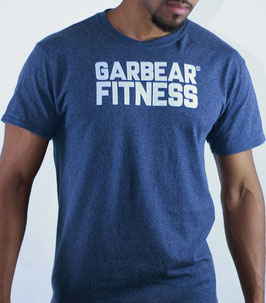 Garbear Fitness | Text Design | Series 1 - Navy Blue