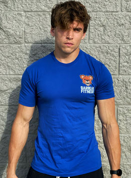 Garbear Fitness | Original Fitted T Shirt | Series 2 - Royal Blue