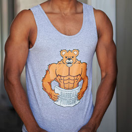 Garbear Fitness | Men's Tanks | Series 2 | Grey