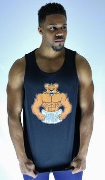 Garbear Fitness | Men's Tanks | Series 1 - Black