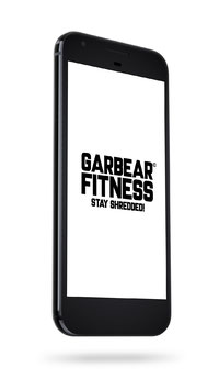 GARBEAR FITNESS CELL PHONE WALLPAPER - Series 1 Version 2