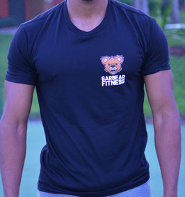 Garbear Fitness | Original Fitted T Shirt - Black