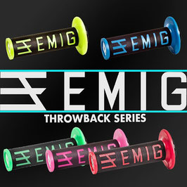 ODI   EMIG V2 LOCK-ON GRIPS THROWBACK EDITION