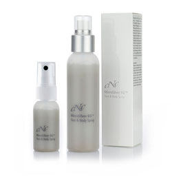 CNC MicroSilver BG Face & Body Spray 100ml + 30ml im Kombi Set