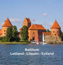BALTIKUM - Lettland, Litauen Estland