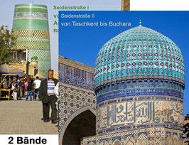 USBEKISTAN + TURKMENISTAN