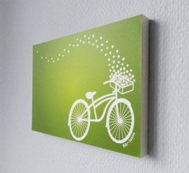 Fahrrad in Grün