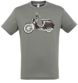 Moped T-Shirt Grau