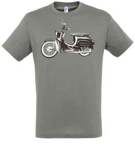 Moped T-Shirt Grau
