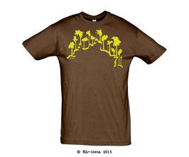 Baumgrenze T-Shirt braun