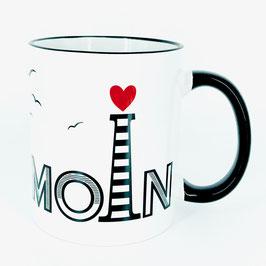 Tasse Moin für Nordsee-Fans
