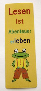 Lesezeichen Happy Frog