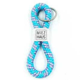Schlüsselanhänger für Katzen-Besitzer, 24 Farben, Segelseil