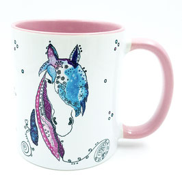 Tasse Pferd personalisiert mit Namen