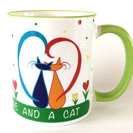 Coole Katzentasse Nr. 1 Lovecats