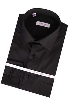 """Сорочка """"Mondigo"""" арт. 10701-02 цвет черный, ткань гладкая"""