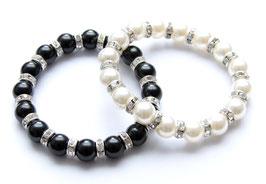 Perlen / Strass Armband