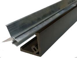 Уголок ДПК + алюминиевый профиль 50*50*3000мм